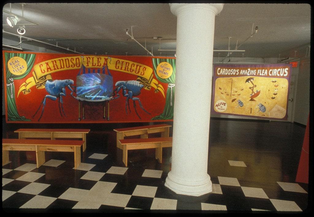 1998_cardoso flea circus_new museum NY_02