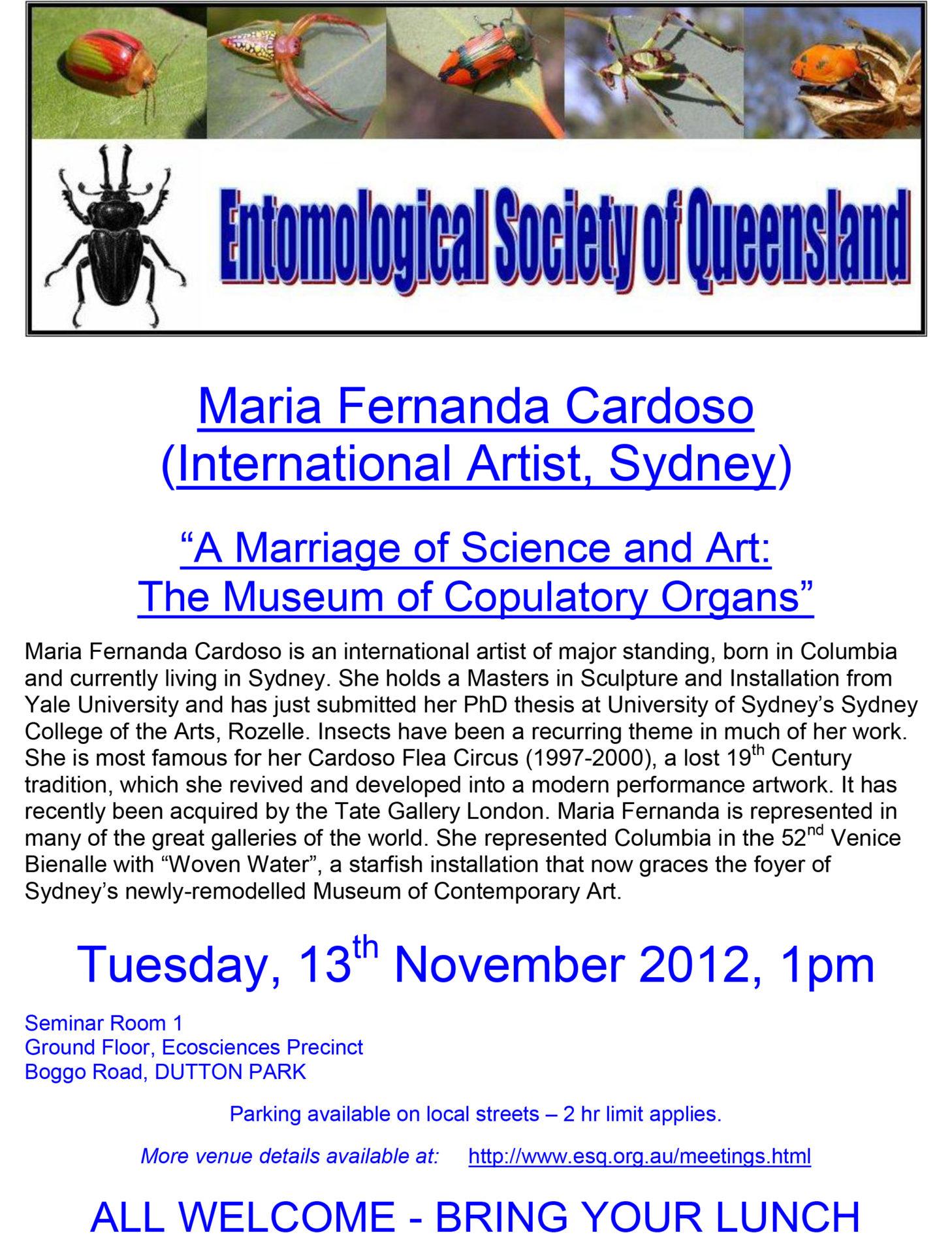 2012_Queensland Entomological Society