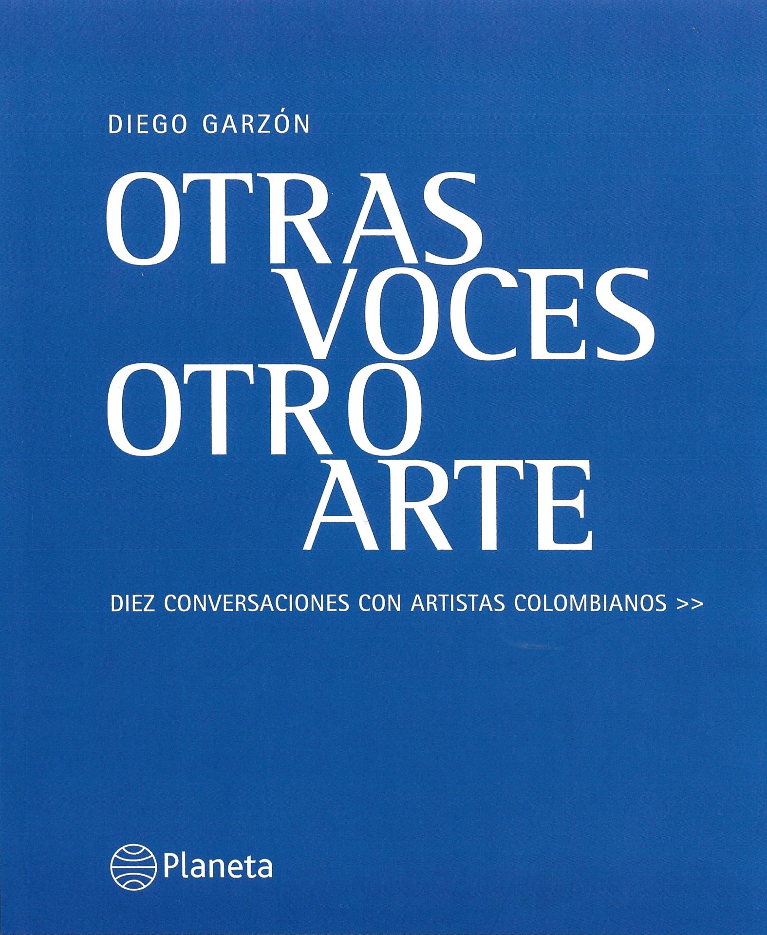 "Garzón, Diego.""María Fernanda Cardoso"". In Otras Voces Otro Arte by Diego Garzón, 150-171. Bogotá: Editorial Planeta, 2005. Download PDF"