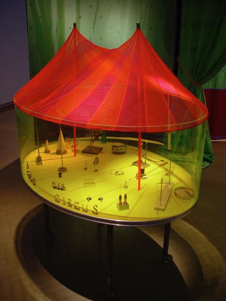 arena + inside tent