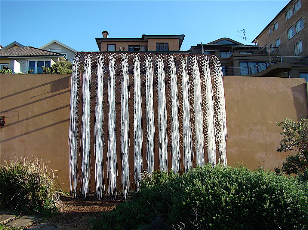WATERFALL AT SCULPTURE BY THE SEA, SYDNEY