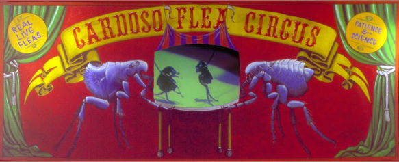CARDOSO FLEA CIRCUS AT THE NEW MUSEUM, NY