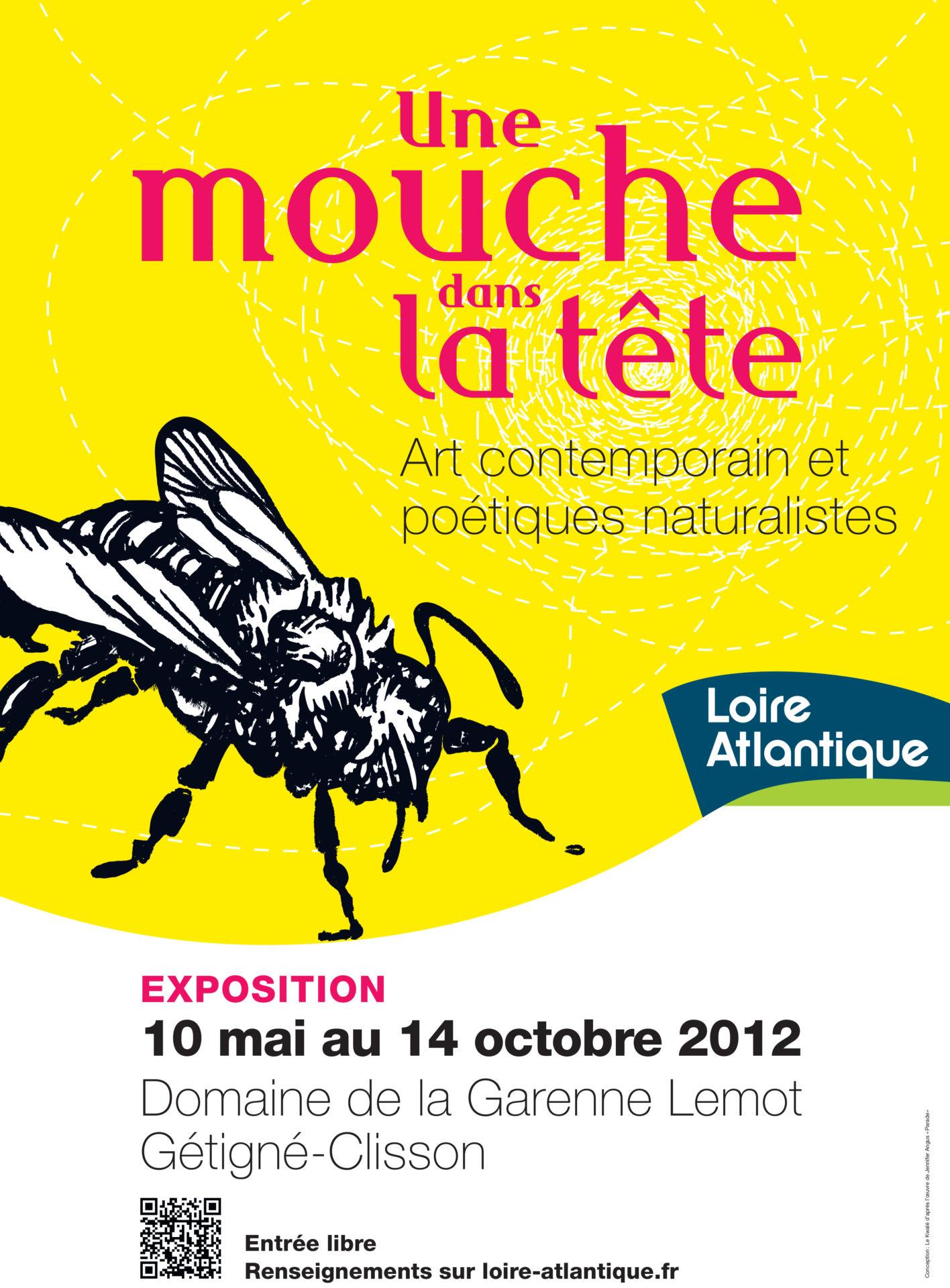 2012_Une mouche dans la tête. Art contemporain et poétiques naturalists (A fly in the head). Garenne Lemot et du château de Clisson. Gétigné-clisson, France.