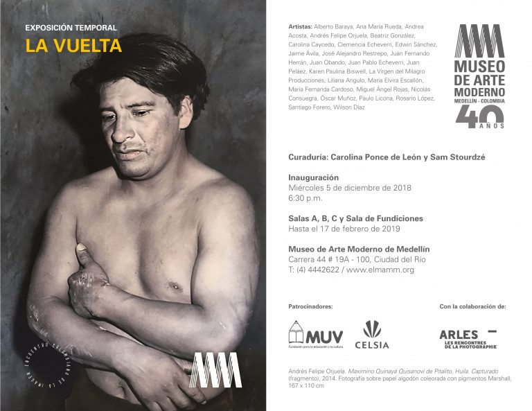 2018_La Vuelta. MAMM Museo de Arte Moderno de Medellín. Medellín, Colombia.