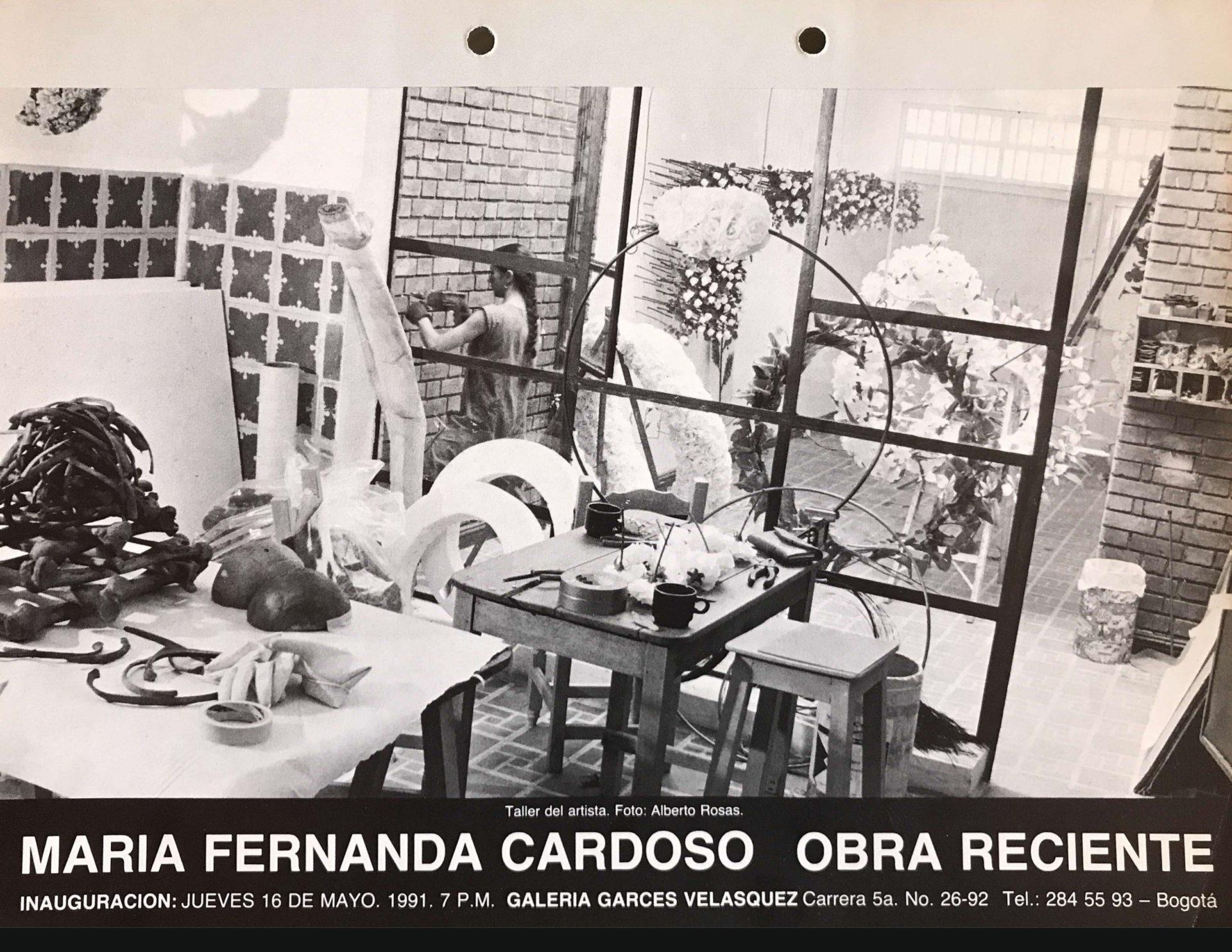 Recent Work. Galería Garcés y Velásquez, Bogotá, Colomb