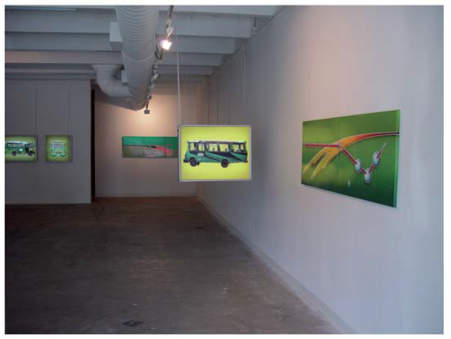 2004_Installation view_busface_01