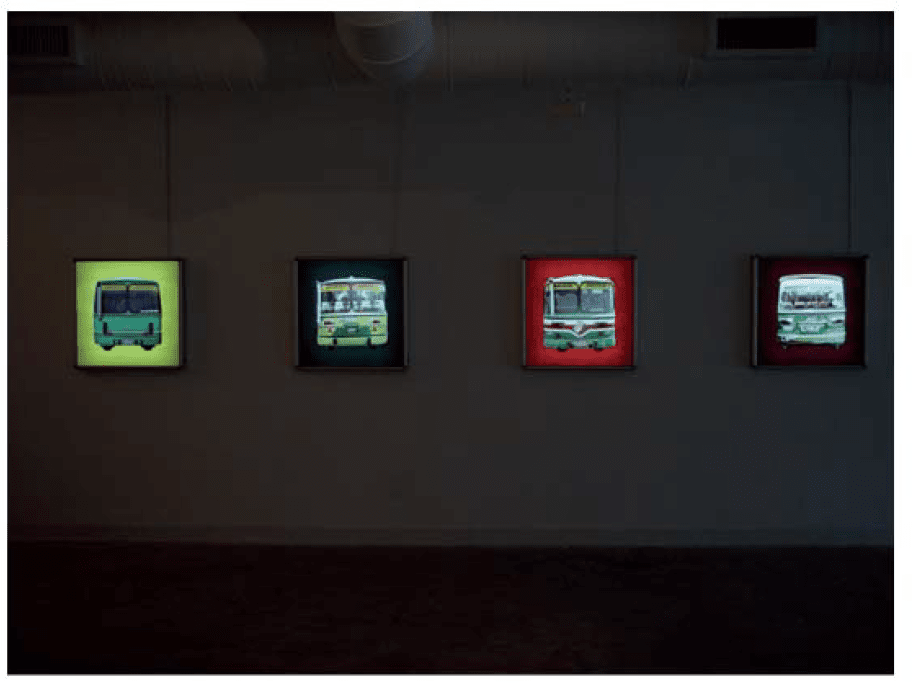 2004_Installation view_busface_02