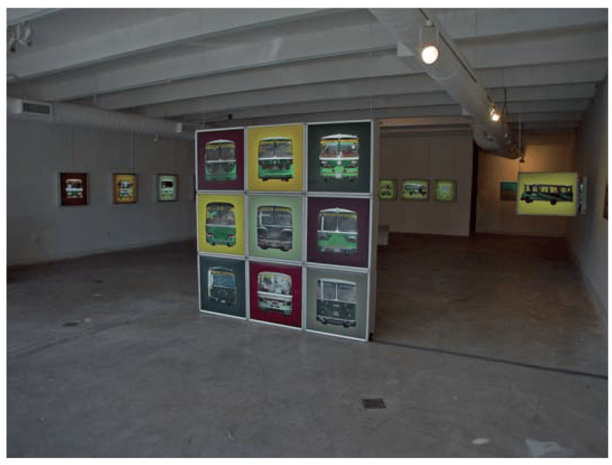 2004_Installation view_busface_03