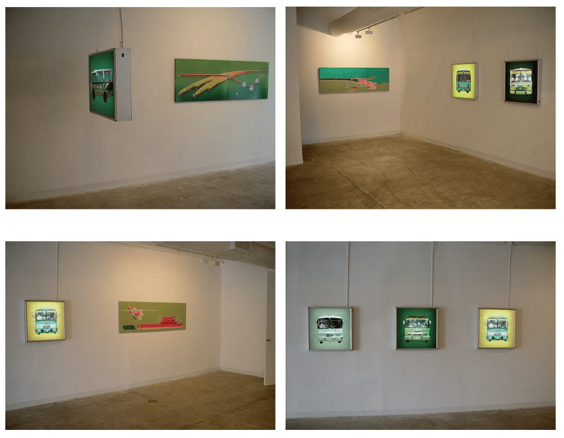 2004_Installation view_busface_05