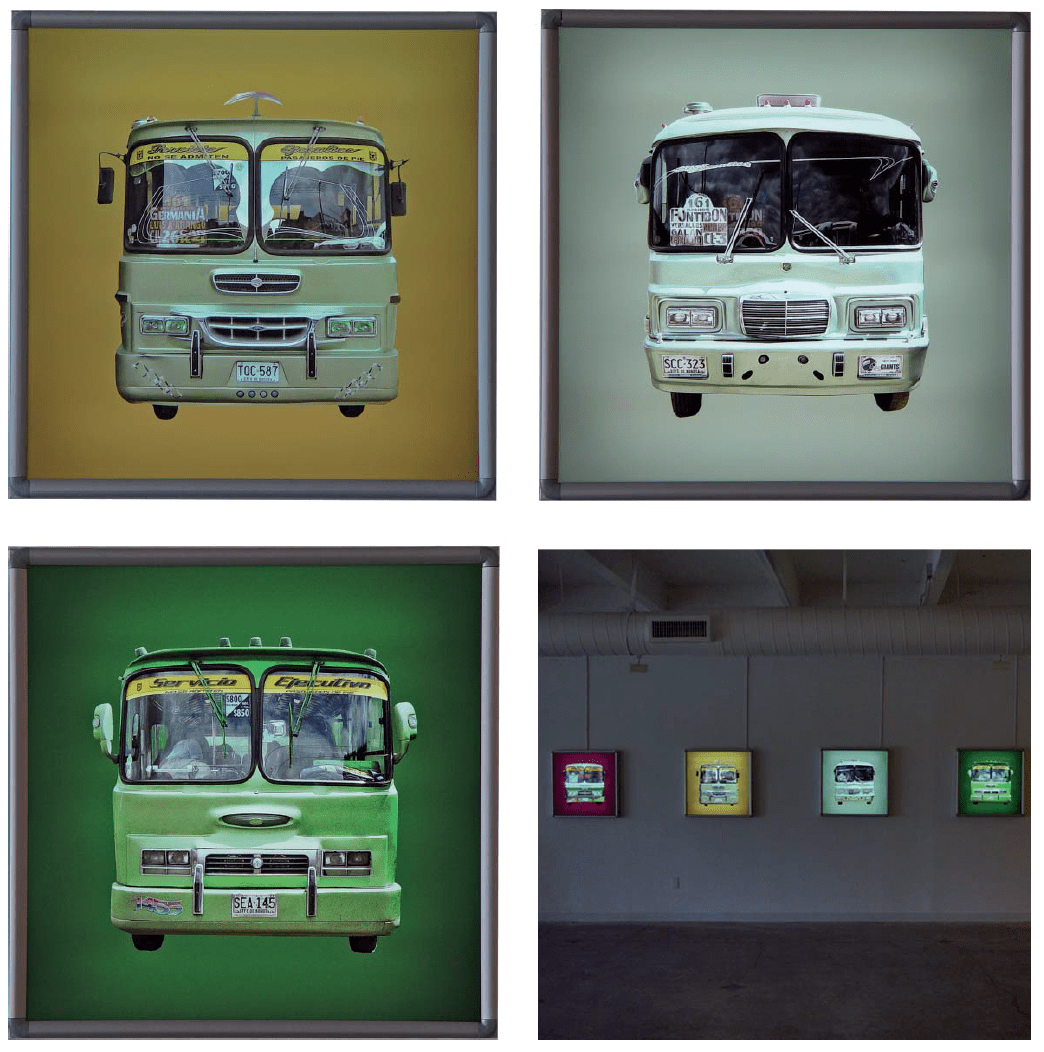 2004_Installation view_busface_06