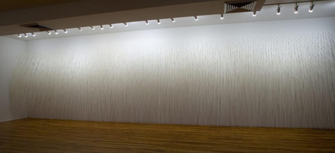 RAIN WALL AT CHELSEA ART MUSEUM, NY