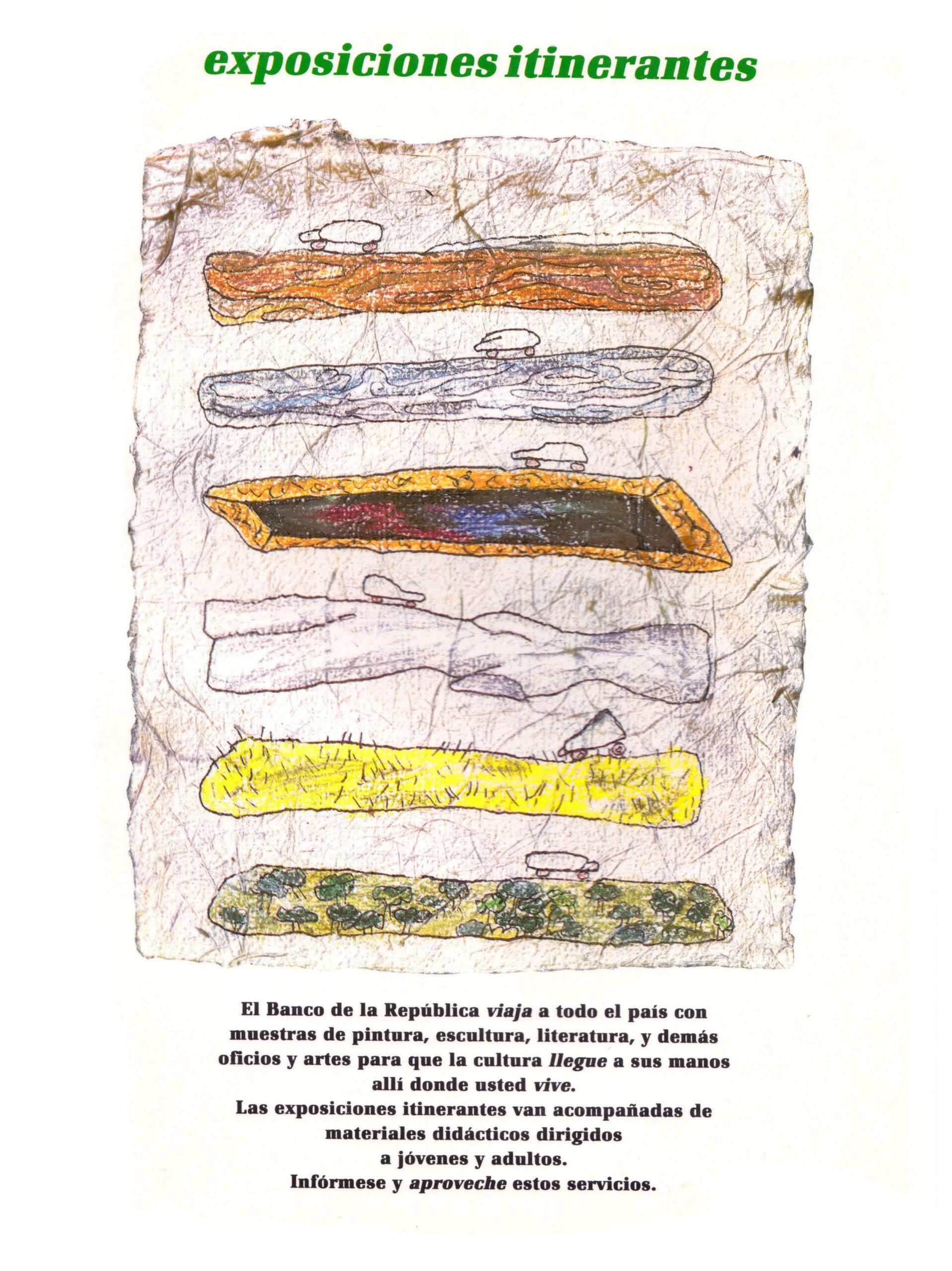Cardoso. María Fernanda. Contraportada. Boletín Cultural y Bibliográfico XXII. no. 5. 1985 copy