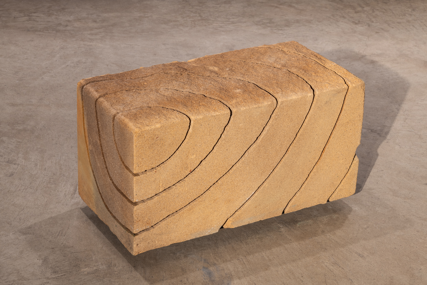 Maria Fernanda Cardoso, One Concentric Circle from the Sandstone